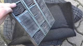 Download Replacing Cabin / Air Conditioning Filter on my 1998 Toyota Corolla G6R Video