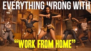 Download Everything Wrong With 5th Harmony - ″Work From Home″ Video