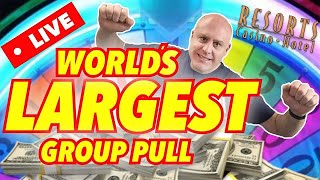 Download 🔴 LIVE WORLD'S LARGEST SLOT GROUP PULL EVER! Video