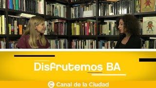 Download Victoria Casaurang entrevista a Leila Guerriero en Disfrutemos BA Video