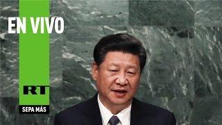 Download Xi Jinping interviene ante la 70.ª Asamblea General de la ONU Video