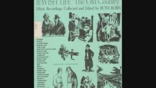 Download Hob ikh mir a shpan - Yiddish Ethnic Field Recordings Video