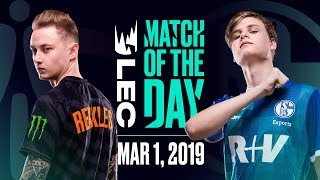 Download #LEC Match of the Day | Fnatic vs Schalke | March 1st Video