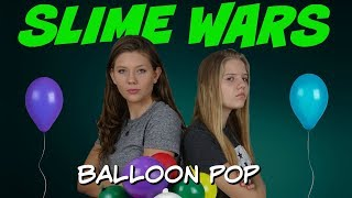 Download SLIME WARS || MAKING SLIME WITH BALLOONS || Taylor and Vanessa Video