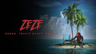 Download Kodak Black - ZEZE (feat. Travis Scott & Offset) Video