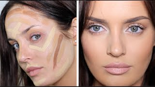 Download Updated Contouring/Highlight Routine: Very Full Coverage Makeup! Video