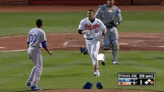 Download KC@BAL: Tempers flare for Yordano Ventura and Manny Machado Video