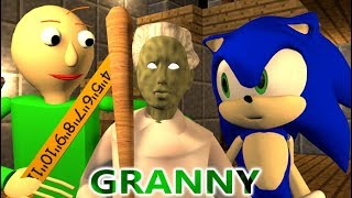 Download GRANNY VS BALDI & SONIC CHALLENGE! Minecraft Horror Game Update Animation Video Video