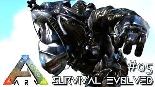 Download ARK: SURVIVAL EVOLVED - NEW BIONIC ROCK ELEMENTAL & SABER !!! E05 (MODDED ARK MYSTIC ACADEMY) Video