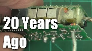 Download Some old-school radio control receivers Video
