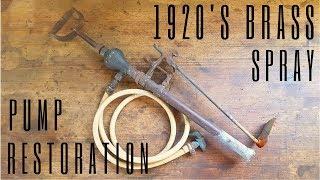 Download 1920's Brass Spray Pump Restoration Video