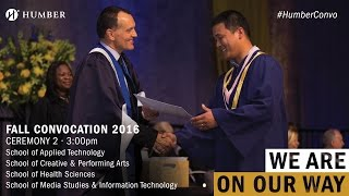Download Fall Convocation 2016 - Ceremony 2 Video
