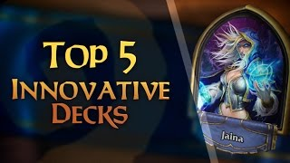 Download The 5 Most Innovative Decks in Hearthstone Video