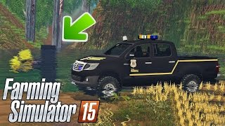 Download Policial Forja Acidente com Caminhão na Ponte - Farming Simulator 2015 Multiplayer Video