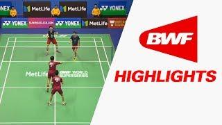 Download Yonex-Sunrise Hong Kong Open 2017 | Badminton SF – Highlights Video