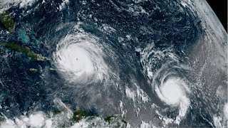 Download Hurricane Jose, a major Category 4 storm, is moving through the Caribbean with 130-mph winds Video