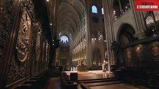 Download Secret visit of Notre-Dame roof and frame (English) - Toute L'Histoire Video