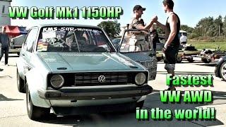 Download 16Vampir VW Golf Mk1 1150HP AWD 8,29s @ 281kmh 2014 NEW VERSION Video