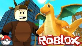 Download FINDING DRAGONITE! / POKEMON GO IN ROBLOX! (Roblox Pokemon Go) Video