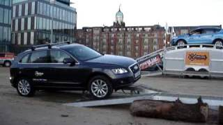 Download Embarrasing moment for the new Audi Q5 Video