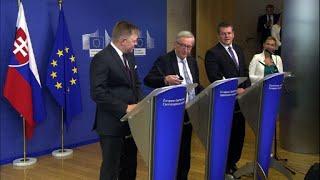 Download 'That's my wife, sorry. No, Mrs Merkel!': Juncker in presser Video
