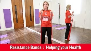 Download British Heart Foundation - Using Resistance Bands Video