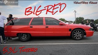 Download BIG RED IS RIDIN! Turbo 5.3L Caprice Wagon | K.P. Tuning | Video