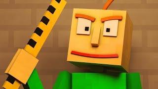 Download ″Basics in Behavior″   Baldi's Basics Animated Minecraft Music Video Video
