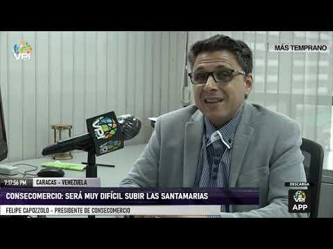 """Caracas - Consecomercio valoró el regreso a la """"actividad productiva"""" - VPItv"""
