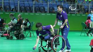 Download Day 3 morning | Boccia highlights | Rio 2016 Paralympic Games Video