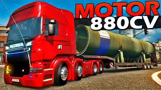 Download CAMINHÃO SCANIA 8X4 Tunada - Euro Truck Simulador 2 Video