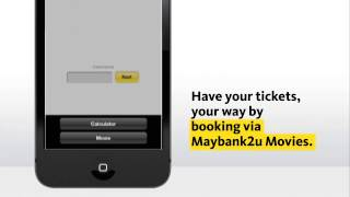 Download Purchase Movie Ticket with Maybank2u Mobile App #2 (Malaysia Only) Video