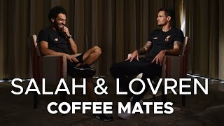 Download Salah & Lovren: Coffee Mates | 'I had to Google Virgil to see how old he was' Video