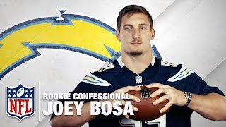 Download Joey Bosa: ″The QB I Want to sack the most is...″ | Rookie Confessional | NFL Network Video