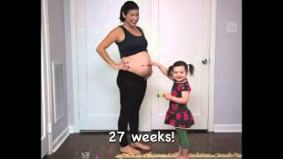 Download Waiting For Baby - in stop action.m4v (pregnancy time lapse) Video
