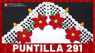 Download Puntilla 291 | VELAS CON NOCHEBUENAS | Puntillas Maribel Video