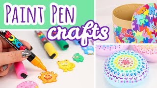 Download 3 Posca Paint Pen Projects | Easy Paint Marker Crafts Video