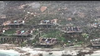 Download Aerial Video Shows Destruction in Virgin Islands Video
