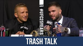 Download Cody Garbrandt vs TJ Dillashaw 2 Hilarious Trash Talk Press Conference Highlight ahead of UFC 223 Video
