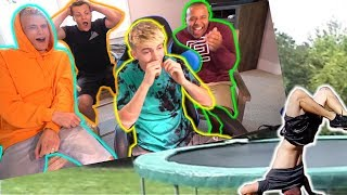Download REACTING TO BAD TRAMPOLINE FAILS 3!! Video