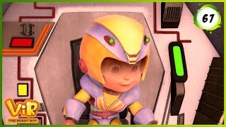Download Vir: The Robot Boy | Earth in Trouble | Action cartoons for Kids | 3D cartoons Video