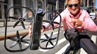 Download SELF FLYING ROBOT DRONE OF THE FUTURE; The Skydio R1 Video