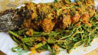 Download Cooking Fish With Water Mimosa, Lemongrass Paste ត្រីបឹងកញ្ឆែត / Cambodian Food Recipe Video