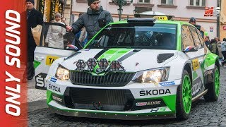 Download NEW SKODA FABIA R5 TAXI 2018 - PRAGA - RALLY STYLE TAXI DRIVES IN PRAGUE Video