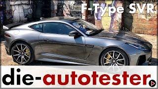 Download Jaguar F-Type SVR Coupé 2017 - Test & Fahrbericht mit der großen Raubkatze   Auto   Deutsch Video