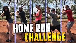 Download LONGEST SOFTBALL HOME RUN CHALLENGE! FT. GIRLFRIEND AND FAMILY! Video
