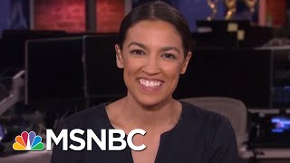 Download Alexandria Ocasio-Cortez: Incumbent Candidates Are Not 'Entitled' To Their Seats | MTP Daily | MSNBC Video
