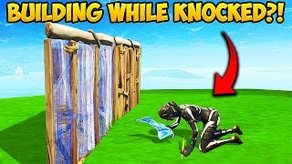 Download *NEW* BUILD WHILE KNOCKED TRICK! - Fortnite Funny Fails and WTF Moments! #356 Video