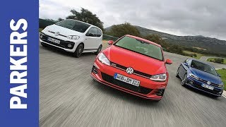 Download VW Golf GTI vs Polo GTI vs Up GTI | Which is the most fun? Video
