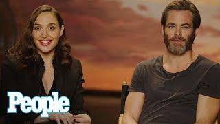 Download Wonder Woman: Gal Gadot & Chris Pine Reveal Behind The Scenes Stories & More | People NOW | People Video